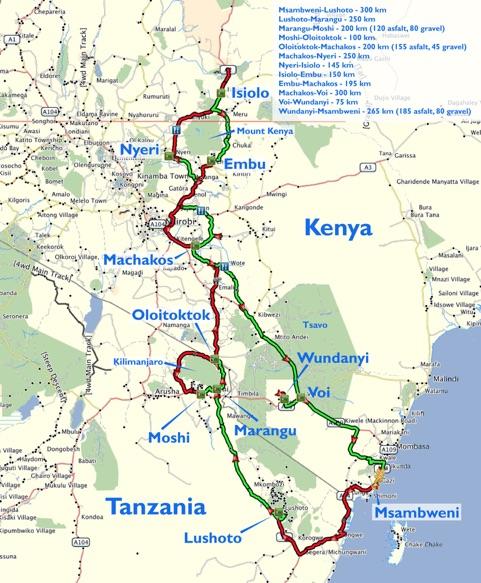 Kili Mount Kenya D